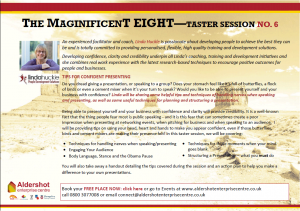 magnificent-eight-presenting-confidently-free-taster-workshops
